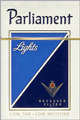 PARLIAMENT LIGHT BOX KING Cigarettes pack