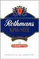 ROTHMANS BLUE KING Cigarettes pack